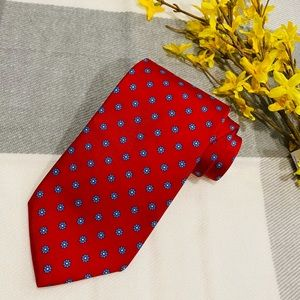 Brooks Brothers Makers Red Silk Tie